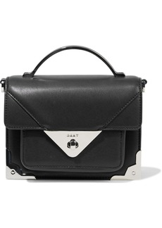 Dkny Woman Jaxone Small Leather Shoulder Bag Black