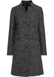 Dkny Woman Mélange Tweed Coat Anthracite