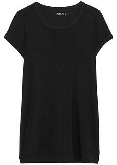 Dkny Woman Modal-blend Jersey Pajama Top Black