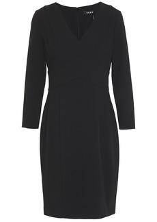 Dkny Woman Stretch-crepe Dress Black