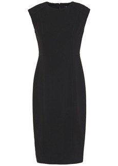 Dkny Woman Stretch-crepe Dress Black