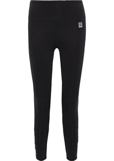 Dkny Woman Stretch Leggings Black