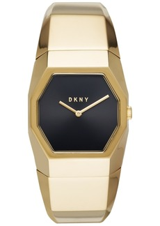 Dkny Women's Beekman Gold-Tone Stainless Steel Bangle Bracelet Watch 32mm, Created for Macy's