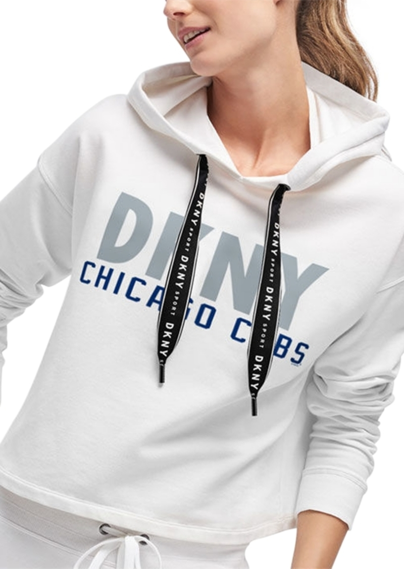 Dkny Women's Chicago Cubs Maddie Hoodie