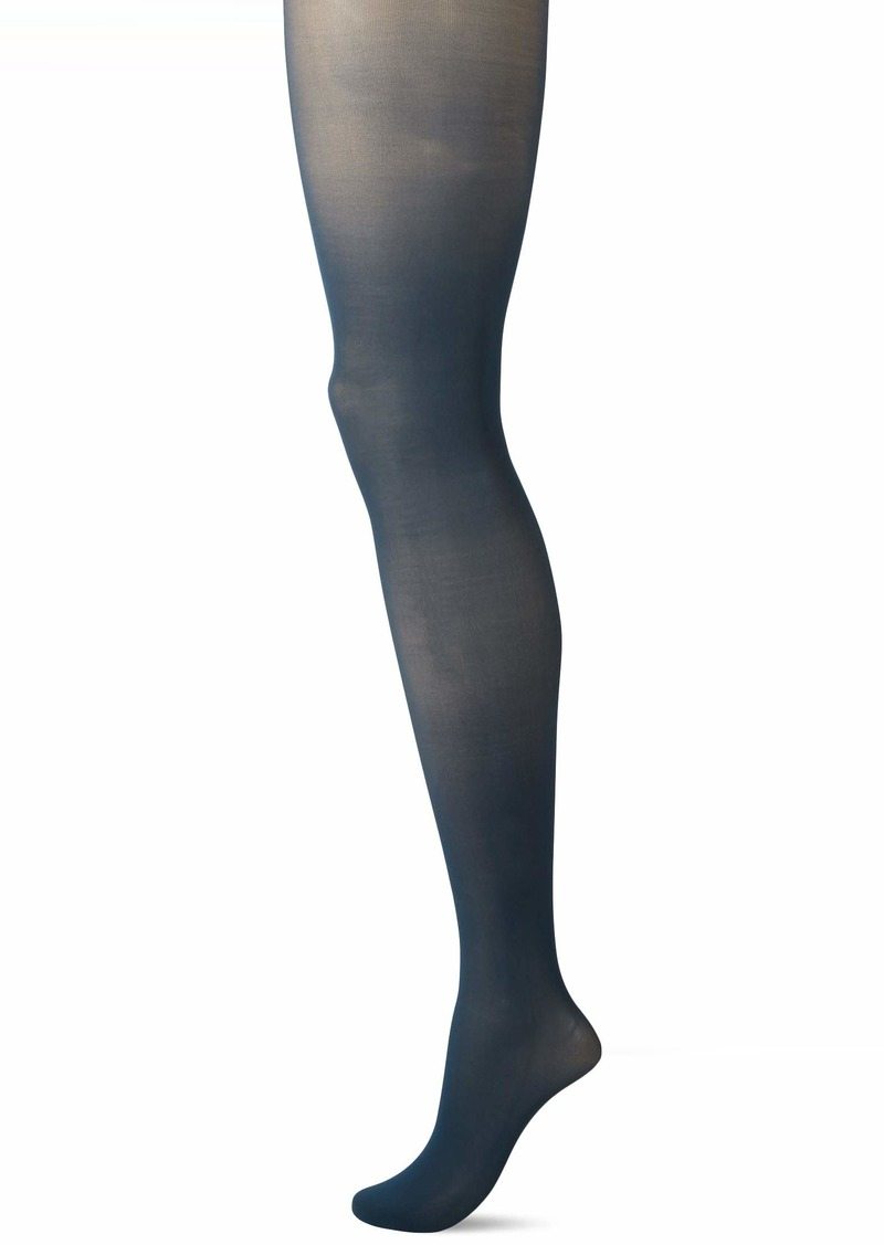 DKNY Women's Comfort Luxe Opaque Control Top Tights dragonfly dark TL