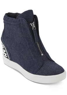 7cd28de5552 Dkny Women s Connie Wedge Sneakers
