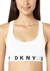 DKNY Women's Cozy Boyfriend Racerback Bralette