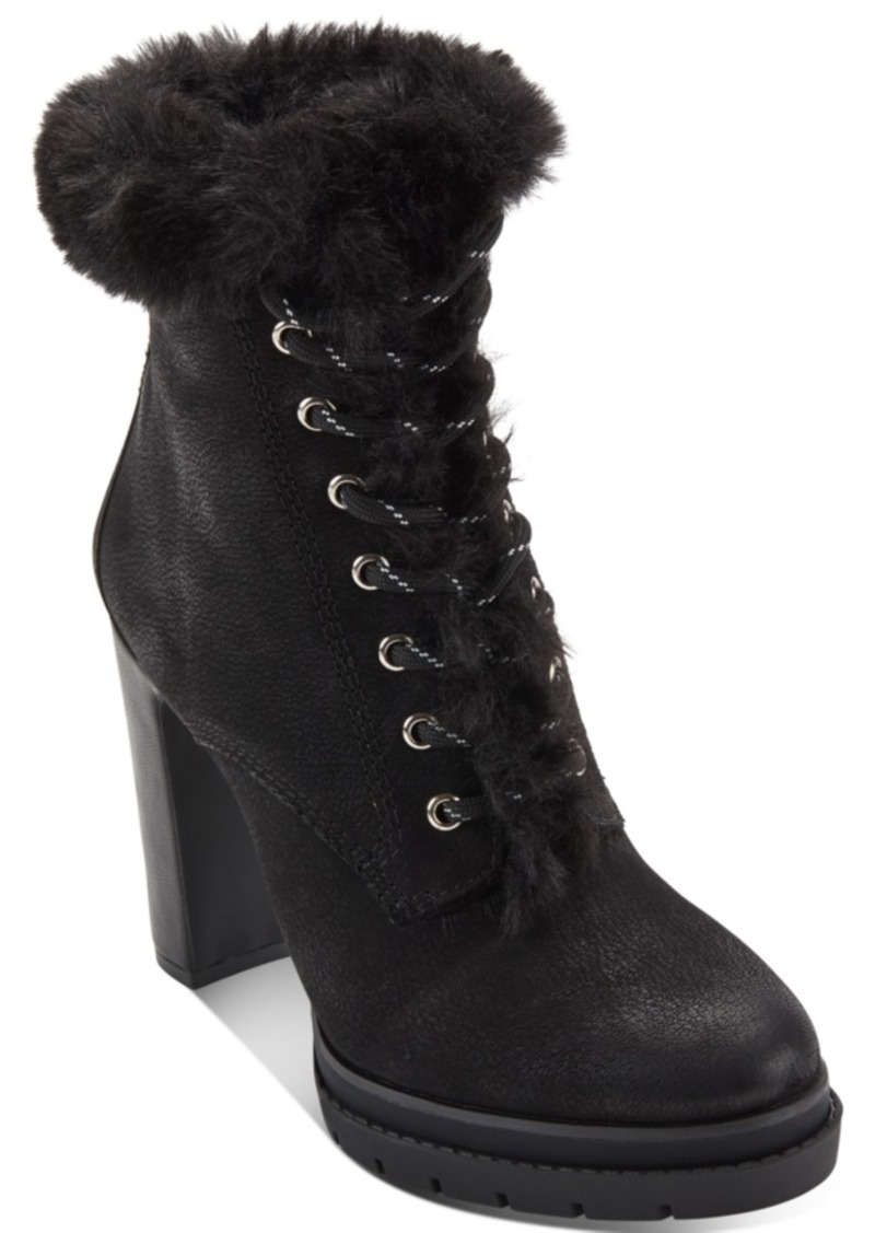 Dkny Women's Darcy Lace-Up Dress Booties