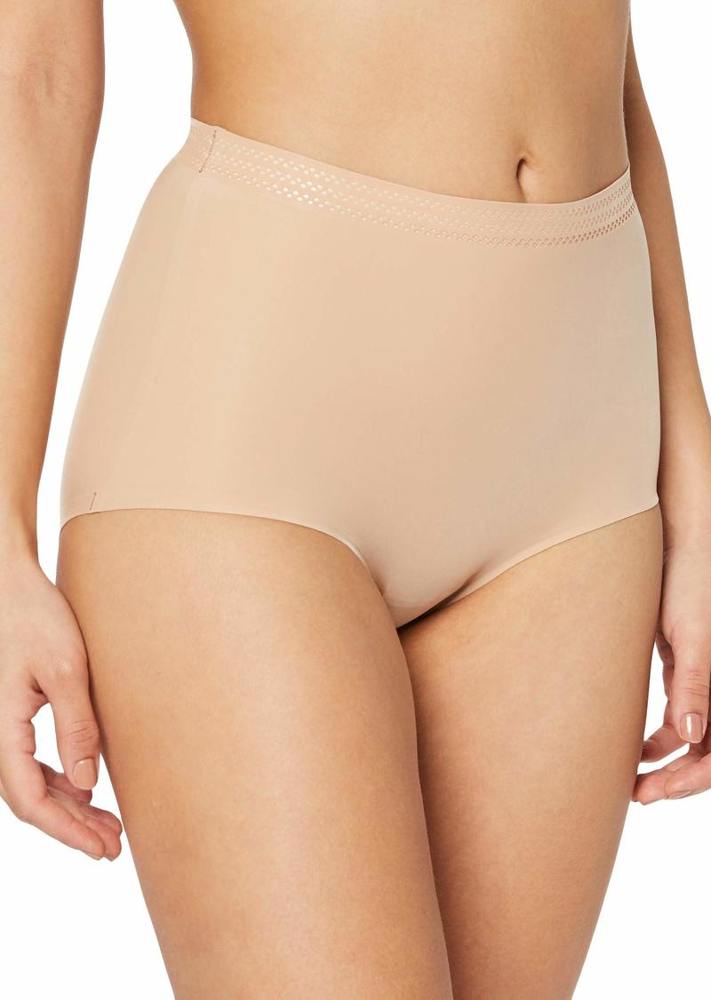 DKNY Women's Essential Microfiber Shaping Brief  XL