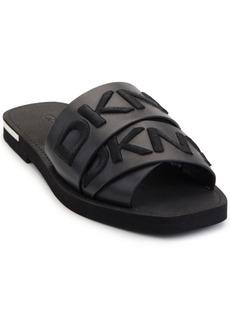 Dkny Women's Isha Logo Slide Sandals