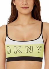 DKNY Women's Logo Scoop Wirefree Bralette