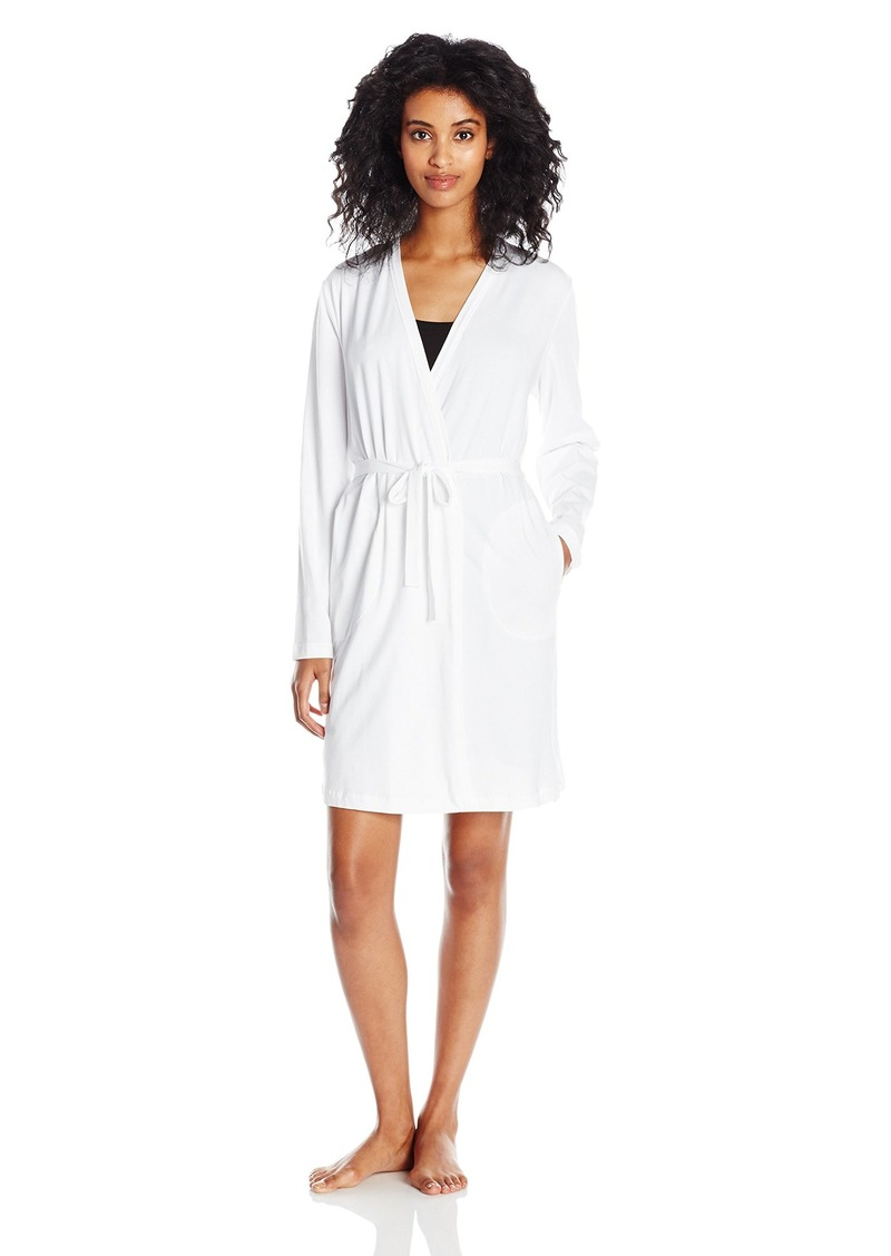 DKNY Women's Long Sleeve Robe  XL