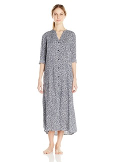 DKNY Women's Long Sleeve Shirt Dress  M
