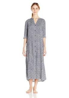 DKNY Women's Long Sleeve Shirt Dress  XL