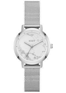 Dkny Women's Modernist Stainless Steel Mesh Bracelet Watch 32mm, Created for Macy's