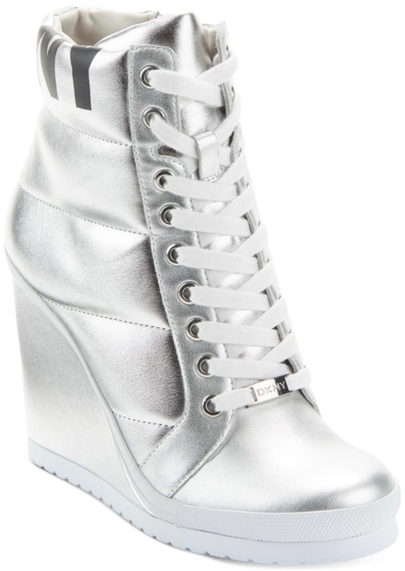Dkny Women's Noho Wedge Sneakers