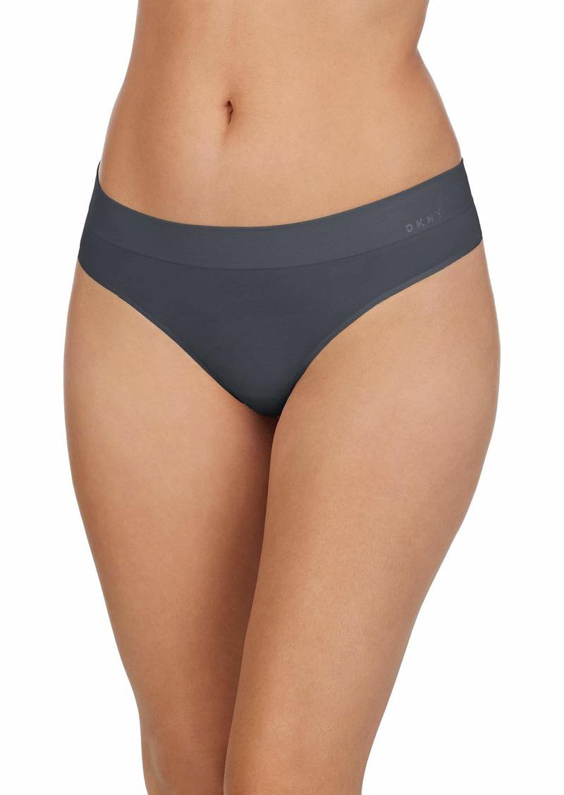DKNY Women's Seamless Litewear Thong Panty
