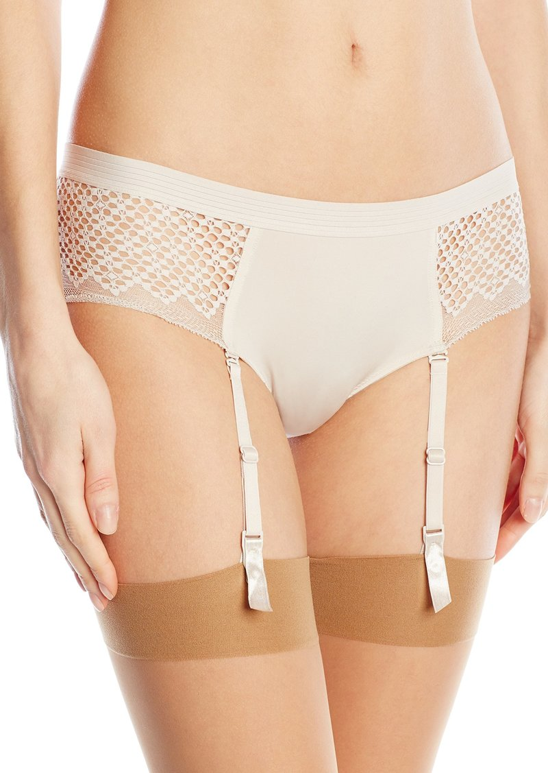 DKNY Women's Sheer Lace Garter Co-Pant
