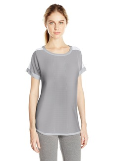 DKNY Women's Short Sleeve Top Modal Knit  L