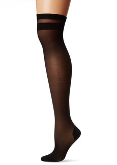 DKNY Women's Stripe Tip Thigh High  M/T