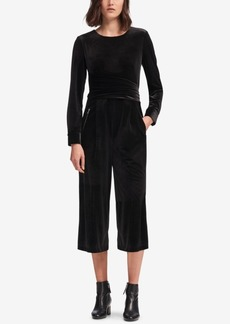 Dkny Wrap-Tie Jumpsuit, Created for Macy's