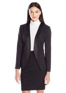 DKNYC Women's Open Front Blazer