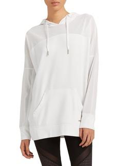 DKNY Donna Karan Active Dropped Mesh Jacket