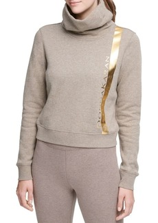 DKNY Donna Karan Active Foil Logo Sweater