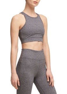 DKNY Donna Karan Active Textured Crisscross Sports Bra