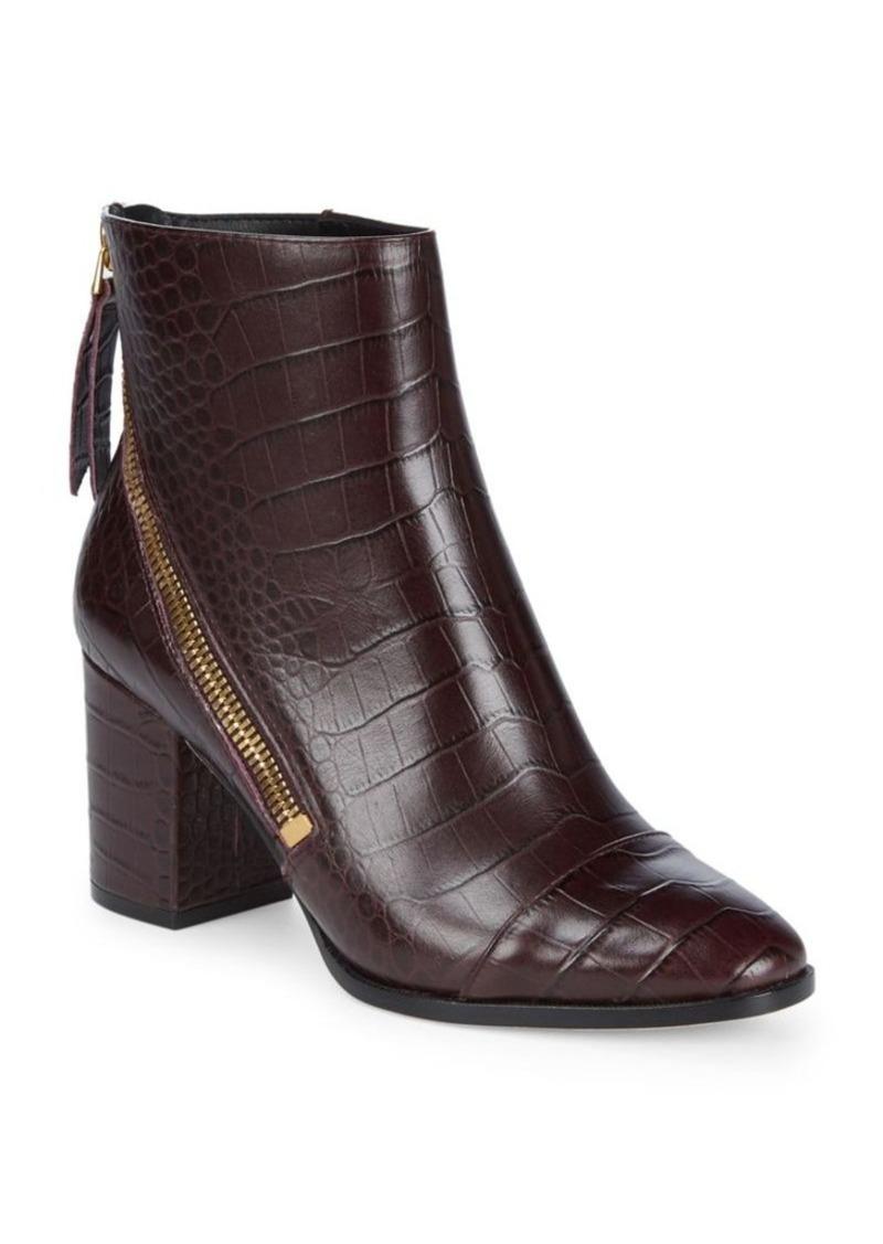62a570c70ef DKNY Donna Karan Alina Leather Booties