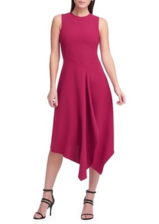 DKNY Donna Karan Asymmetrical Hem Dress