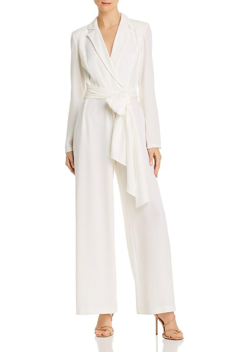 DKNY Donna Karan Belted Blazer Jumpsuit