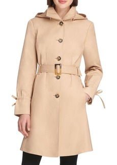 DKNY Donna Karan Belted Trench Coat