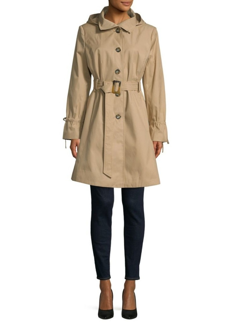 pretty nice f7394 d1ead Donna Karan Belted Trench Coat