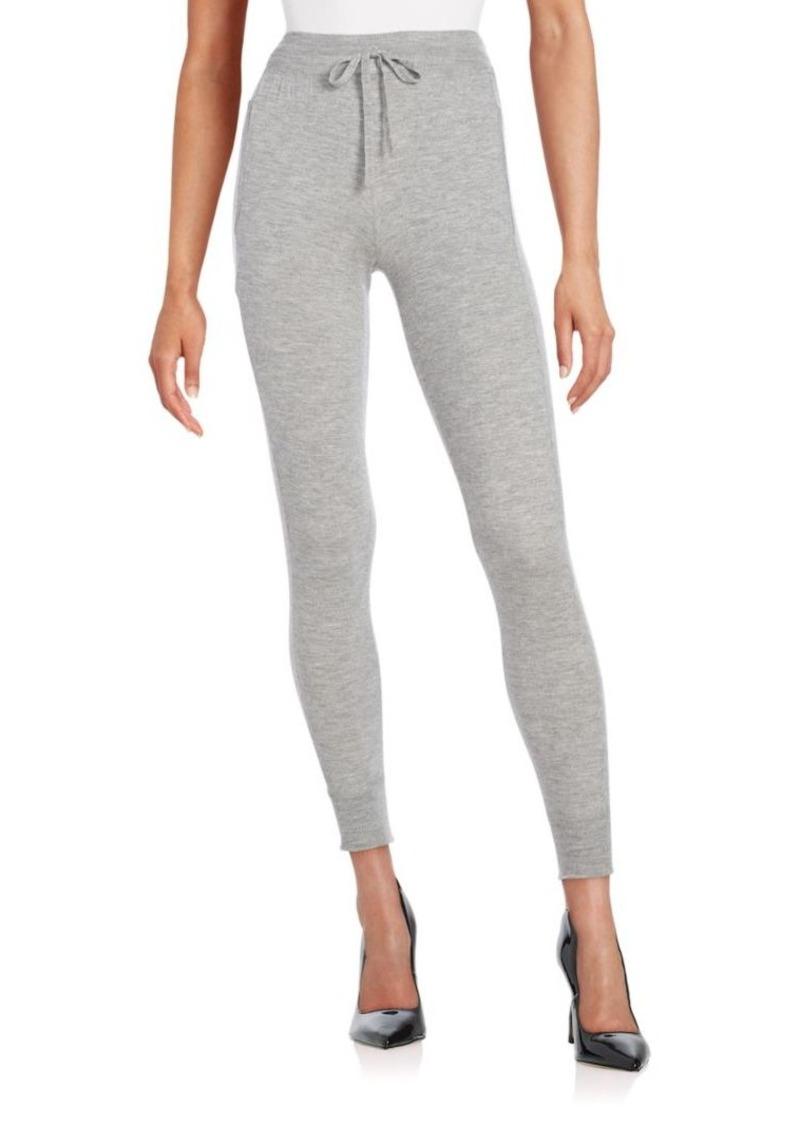DKNY Donna Karan Cashmere Knit Jogger Pants