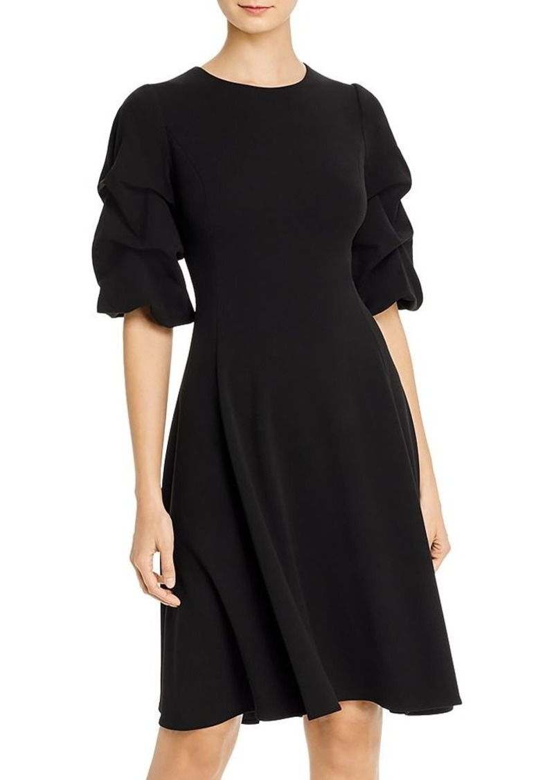 DKNY Donna Karan Caught-Sleeve Dress