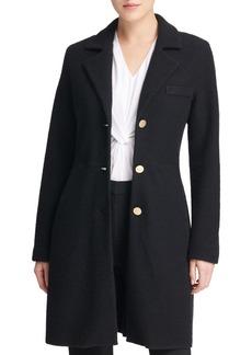 DKNY Donna Karan Classic Long-Sleeve Coat