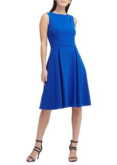 DKNY Donna Karan Classic Sleeveless Fit-and-Flare Dress