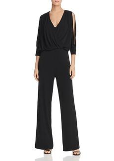 DKNY Donna Karan Cold-Shoulder Jumpsuit