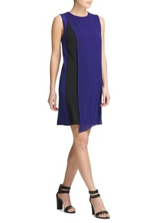 DKNY Donna Karan Colorblock Shift Dress