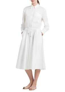 DKNY Donna Karan Cotton Button-Down Shirtdress
