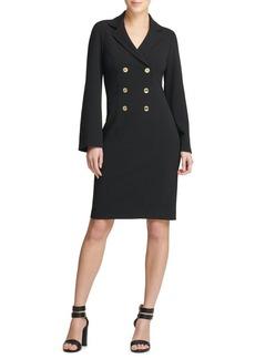 DKNY Donna Karan Double-Breasted Shirtdress