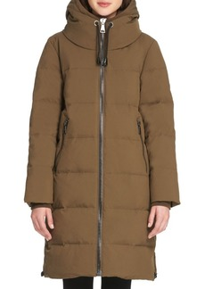 DKNY Donna Karan Down Cost Quilted Jacket