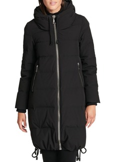DKNY Donna Karan Down Puffer Hooded Coat