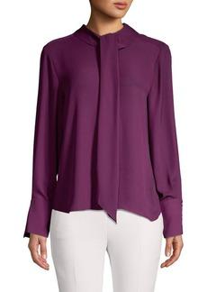 DKNY Donna Karan Drape Drop Shirt