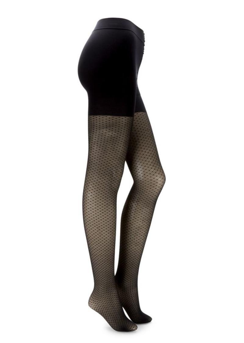DKNY Donna Karan Fashion Essentials Dot Compression Shaping Tights