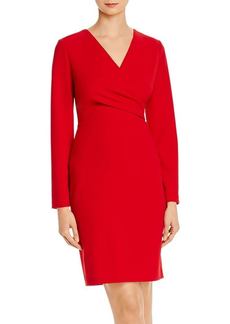 DKNY Donna Karan Faux-Wrap Dress