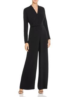DKNY Donna Karan Faux-Wrap Wide-Leg Jumpsuit