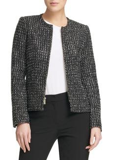 DKNY Donna Karan Front-Zip Jacket
