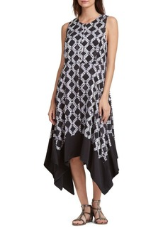 DKNY Donna Karan Geometric Trapeze Dress